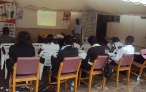 University Sudents at UNHCO Secretariat