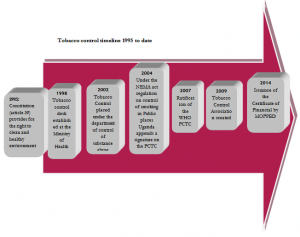 Tobacco control timeline 1995 to date
