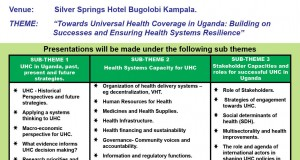Symposium on Universal Health Coverage in Uganda
