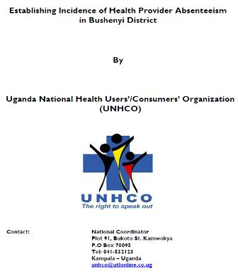 Study to Establish Incidence of Health Provider Absenteeism in Bushenyi District