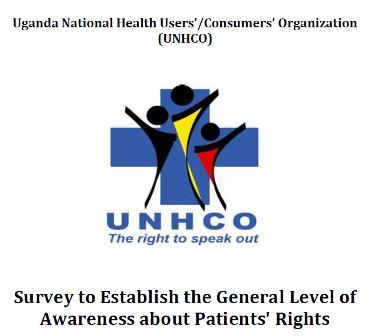 Survey to establish General Level of Awareness about Patients' Rights