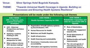 Symposium on Universal Health Coverage in Uganda