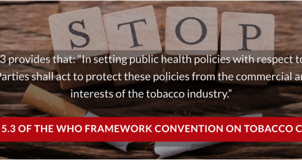 Petition to the COVID-19 National  Task-force: Government has a Duty to Protect Public Health Laws and Policies from Commercial and Other Vested Interests of the Tobacco Industry